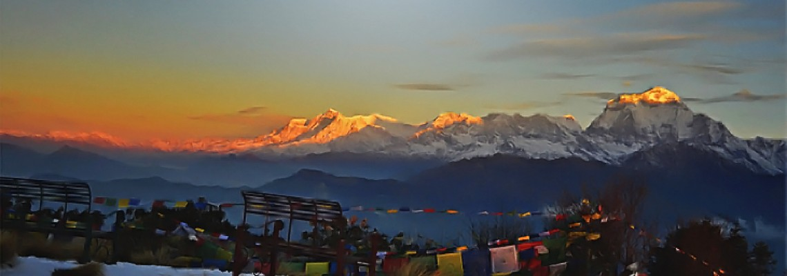 Making much of moving on feet: Poon Hill Sunrise Trek